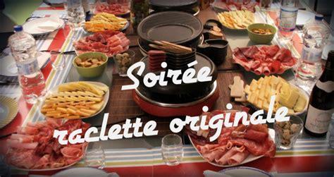 recette cuisine traditionnelle soirée raclette originale