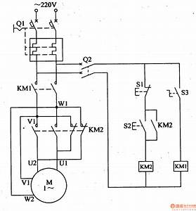 Single-phase Motor Controlled Circuit