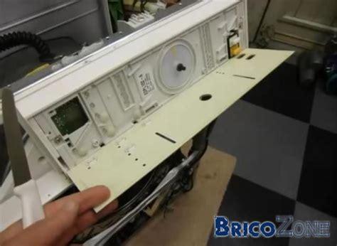 lave linge miele softtronic w 5825 d 233 montage panneau de commande