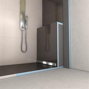 Wedi Bodengleiche Dusche : wedi fundo plano linea la douche wedi extra plate leaking shower bathroom renovation shower ~ Frokenaadalensverden.com Haus und Dekorationen