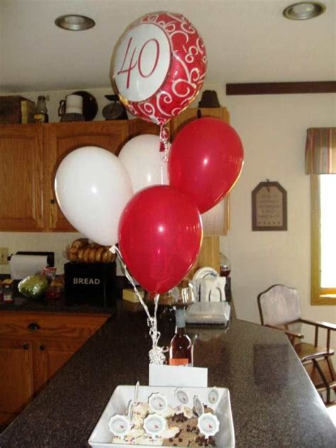 easy diy 40th anniversary decorations google search