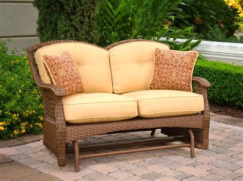 Comfortable Patio Furniture Loveseat Home And Garden Decor