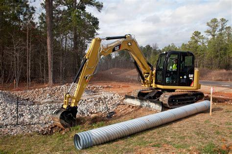 cr mini hydraulic excavator  swing boom