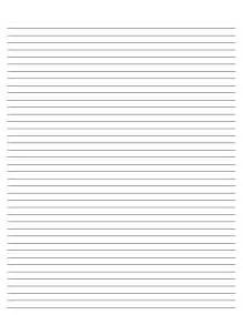 blank lined paper template white gold