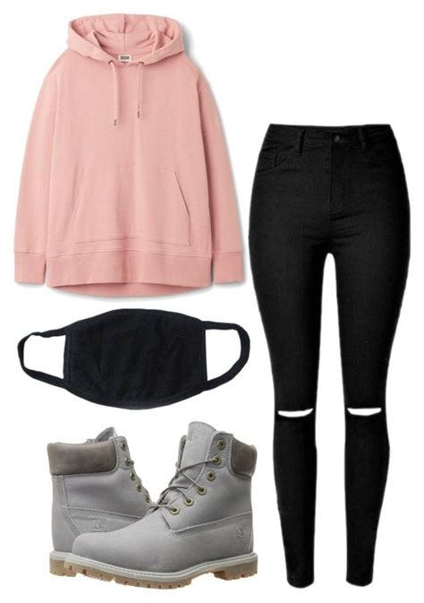 U0026quot;BTS Jungkook-Inspired Outfitu0026quot; by jessy-693 liked on Polyvore featuring Timberland | kpop ...