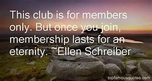 Club Membership... Member Club Quotes