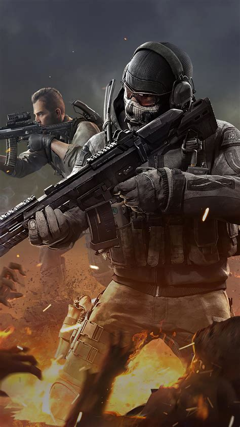 ghost player call  duty mobile  ultra hd mobile wallpaper