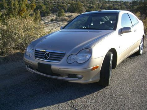 Further, it exemplifies your desire to own an automobile that will be as easy as possible to operate and provide years of service. Sell used 2003 Mercedes-Benz C230 Kompressor Coupe 2-Door 1.8L Supercharged Low Reserve in ...