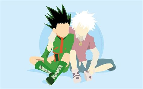 anime hunter  hunter gon css killua zoldyck
