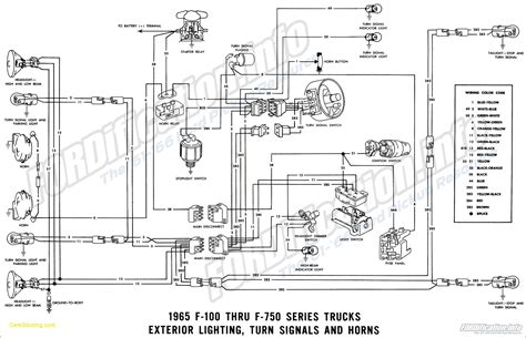 1966 Ford F100 Horn Diagram by Electric Choke Wiring Diagram Auto Electrical Wiring Diagram