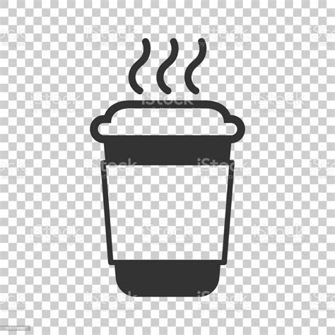 Coffee alphabet 'brown coffee cup border', numbers png, icons png and bible verse, #coffee, #love, #jesus, #alphabet, #jesuslovesyou. Coffee Tea Cup Icon In Flat Style Coffee Mug Vector Illustration On Isolated Background Drink ...