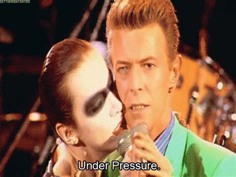 'under Pressure By Queen And David