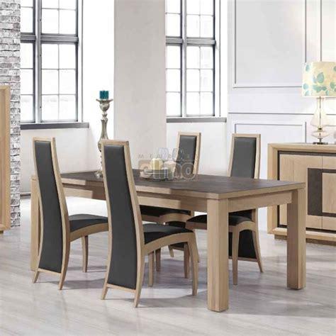 meuble d angle chambre table salle à manger contemporaine chêne massif et céramique