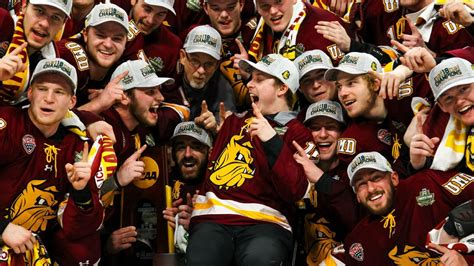minnesota duluth  redemption  ncaa hockey title