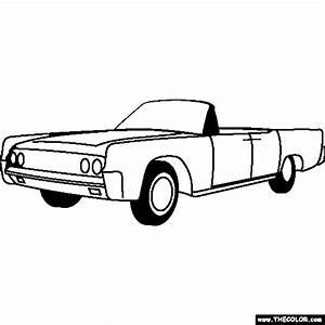 free online coloring pages thecolor With lincoln flower car