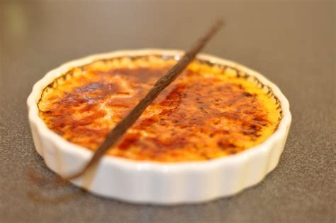 cuisine thon crème brûlée à la vanille hervecuisine com
