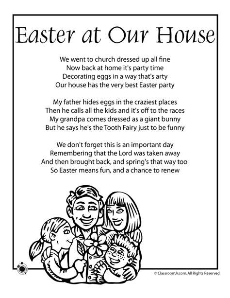 easter poem easter   house woo jr kids activities