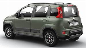 Fiat Panda 4x4 2016 dimensions, boot space and interior