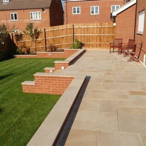 smooth indian sandstone patio google search  garden