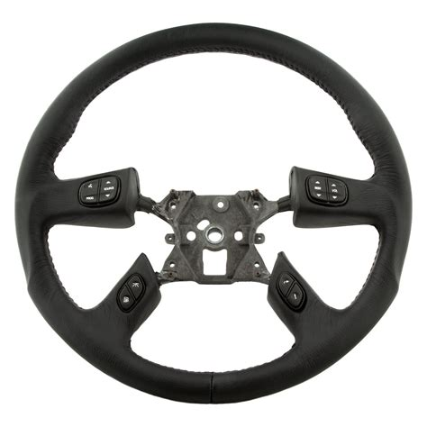 grant 174 61037 4 spoke revolution series airbag replacement steering wheel with black leather