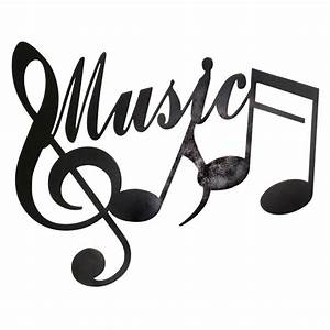 24 X 19-in Music Notes Wall Décor - At Home
