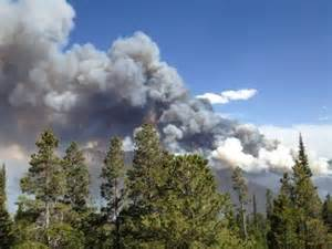 Current Fires in Wyoming and Montana
