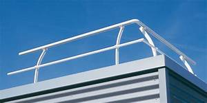Toiture Terrasse Inaccessible : garde corps alu toitures terrasses gardal horizal ~ Melissatoandfro.com Idées de Décoration