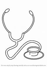Stethoscope Draw Step Drawing Objects Template Doctor Pages Learn Everyday Tutorials Coloring Sketch Tutorial Sheet Clip Open Getdrawings Drawingtutorials101 sketch template