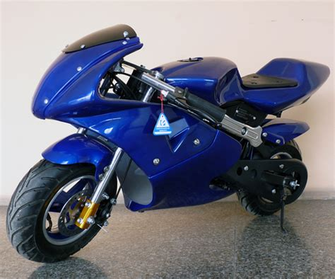 chambre a air pocket bike 50cc 2 stroke air cooled 3hp pocketbike blue pocket