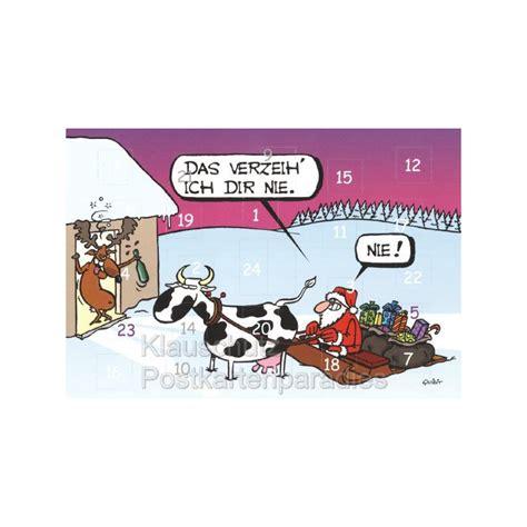 lustige weihnachtsmann bilder adventskalender klappkarte weihnachtsmann