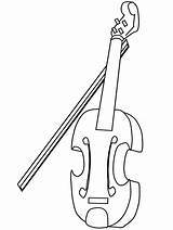 Coloring Violin Pages Fiddle Sheet Template Hungary Templates sketch template