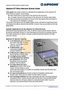 Download Free Pdf For Aiphone Gf