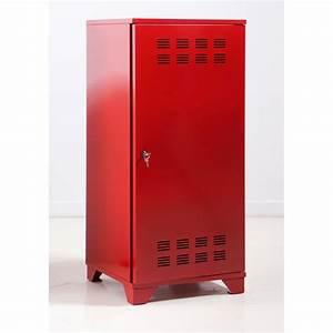 Casier De Rangement Métal : casier de rangement mtal finest casier metal rouge avec ~ Dode.kayakingforconservation.com Idées de Décoration