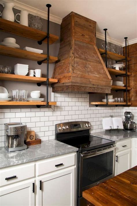 27+ Wonderful Kitchen Ideas Open Shelves
