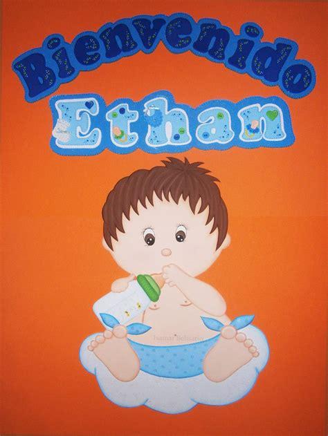 Bebe Baby Shower by Bebe Bienvenidos Baby Shower Nacimiento Cartel Foami Bs