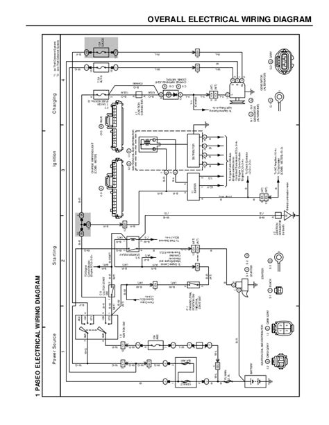 95 Town Car Electrical Wire Diagram by Esquemas El 233 Ctricos Toyota Paseo 1996