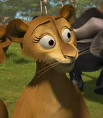 lioness  voice madly madagascar show
