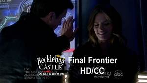 "Castle 5x06 ""The Final Frontier"" Beckett Tells Castle Why ..."