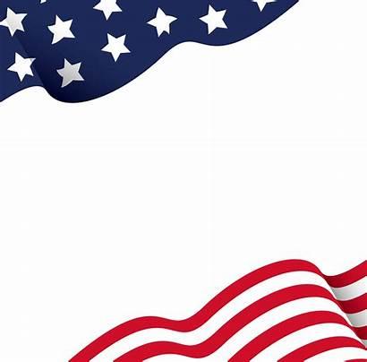 Flag American Transparent Background Clipart Borders Border