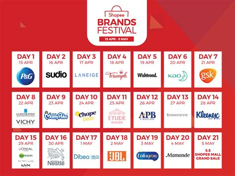 Shopee Brands Festival Has 24-Hour Deals & Giveaways Daily ...