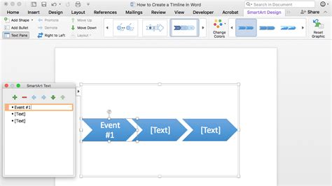 Timeline Template Word How To Make A Timeline In Word Free Template Teamgantt