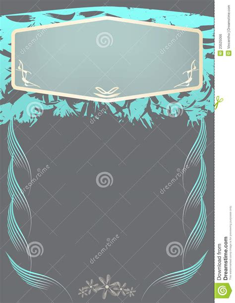 special invitation card design royalty  stock image