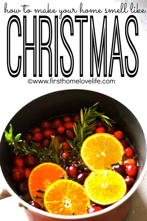 what christmas tree smells like citrus make your home smell like home