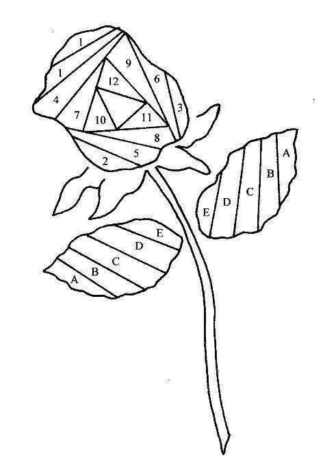 stemmedrose iris paper folding iris folding iris