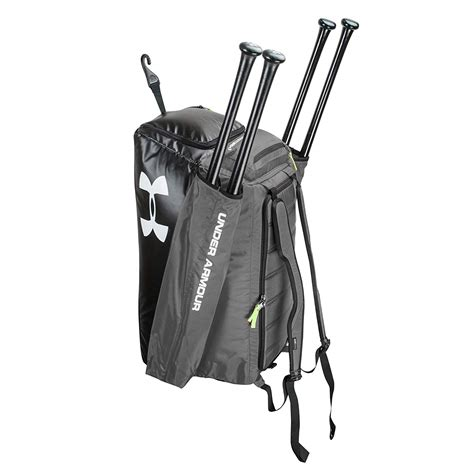 armour baseball softball cleanup sports backpack duffle bag graphite walmartcom