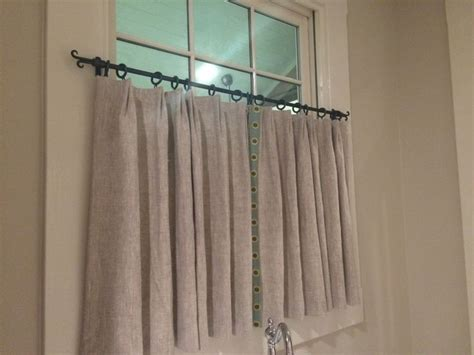 25+ Best Ideas About Cafe Curtain Rods On Pinterest Pattern For Curtains With Grommets Sheer Large Windows What Size Curtain Rods Do I Need Door Panel Hardware Diy Ruffled No Sew Ceiling Mount Bed Bath And Beyond Tension Pole Uk Hanging On Multiple