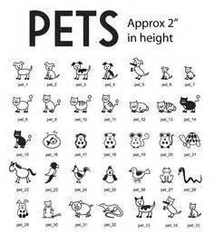 stick figure animals bing images dibujos sencillos