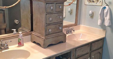 Paint For Kitchens And Bathrooms by Bathroom Vanity Makeover With Annie Sloan Chalk Paint
