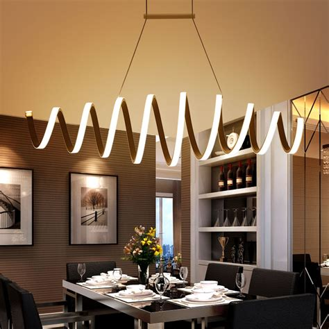hanging lights kitchen bar minimalism modern led pendant lights for dining room bar 6997