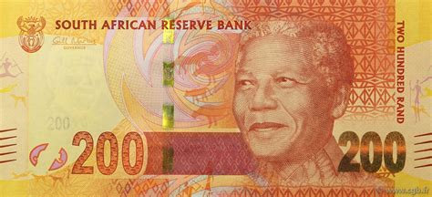 200 rand south africa 2012 p 137 b97 2220 banknotes